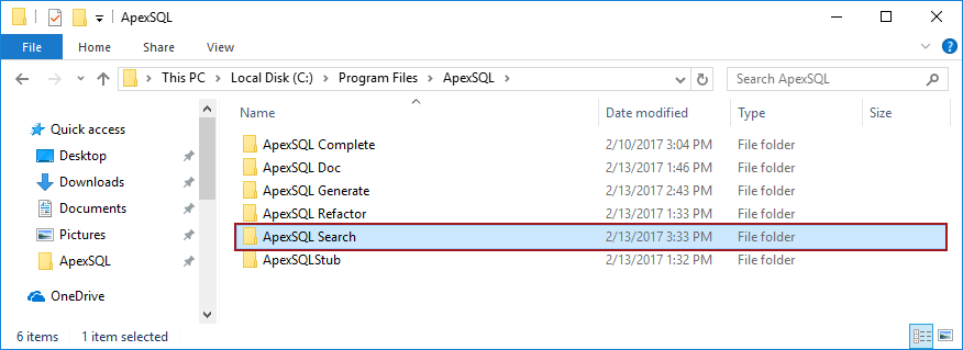 How to manually uninstall ApexSQL add-ins