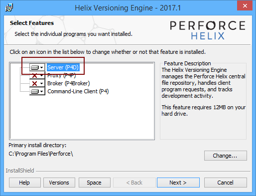 How to link a SQL Server database to a Perforce repository