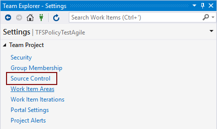 How to utilize Team Foundation Server check-in policies