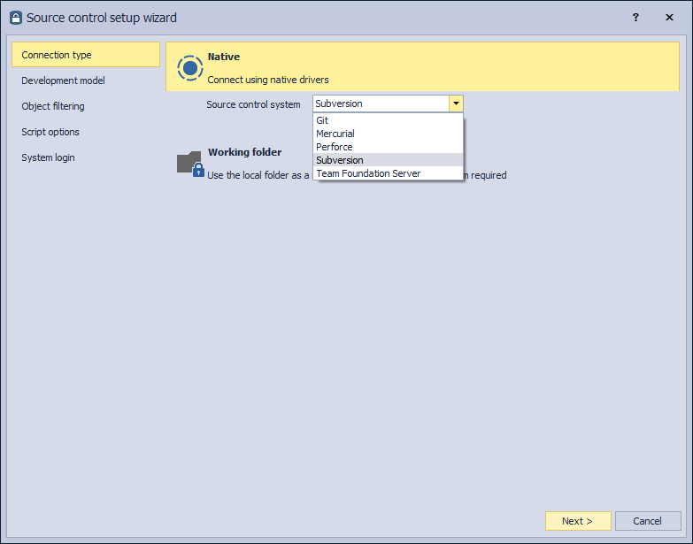 ApexSQL Source Control for a first-time user