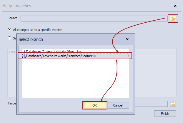 How to utilize branching and merging with Team Foundation Server