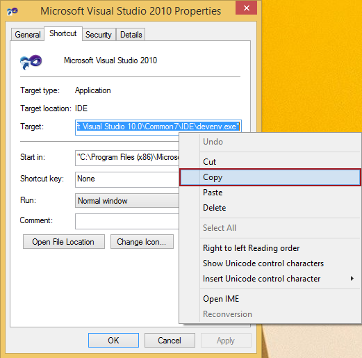 How to remove add-ins just from Visual Studio while