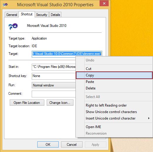 Visual studio 2010 key | Download Visual Studio 2010 Keybinding