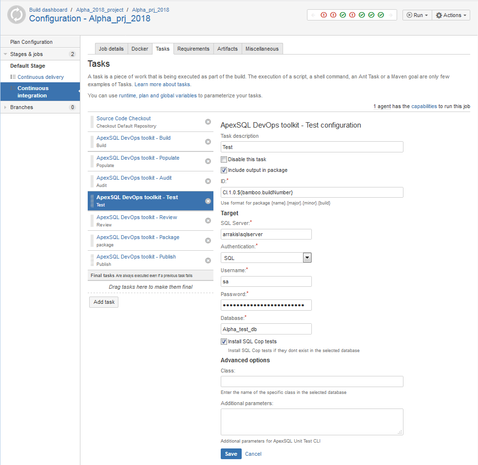 How to setup continuous integration and continuous delivery