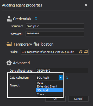 SQL Server auditing technologies